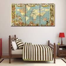 World Map Wall Decor by Compare Prices On 3 Piece Wall Decor Set Online Shopping Buy Low