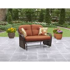 Patio Furniture Glider by Better Homes And Gardens Azalea Ridge Glider Seats 2 Walmart Com
