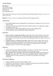 Sample In House Counsel Resume by Inspirational Attorney Resume Sample Emphasizing Summary Of