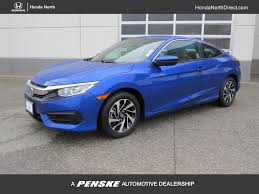 honda civic 2017 new honda civic coupe lx p cvt at honda north serving fresno