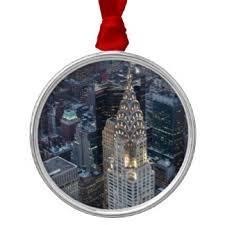 chrysler building ornaments keepsake ornaments zazzle