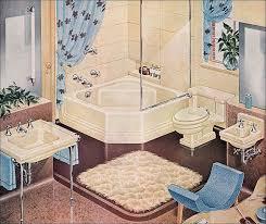 Best Retro Bathrooms Images On Pinterest Retro Bathrooms - American bathroom design