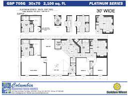 Floor Plans Of Mobile Homes Golden West Clayton Home