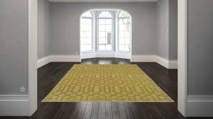 Viscose Rugs Made In Belgium Transitional Beige Gold Wool Wool Viscose Geometric Hand Tufted