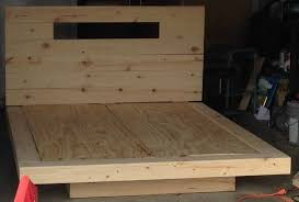 How To Make A Platform Bed Frame With Pallets by How To Build A Diy Floating Bed Frame With Led Lighting