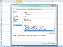 format date in excel 2007 excel date formatting not working stack overflow