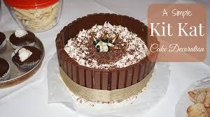simple kit kat cake cake decorating newbie k u0027s mum youtube