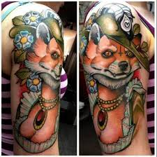 10 glorious tattoos of animals in human clothing