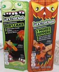 Dirt Cake For Halloween Halloween Lunchables Dirt Cake U0026 S U0027mores Dippers Review Youtube