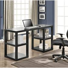 Small Oak Writing Desk by Altra Furniture Stanley Black Oak Desk With Shelves 9318296 The