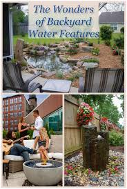 backyards trendy astounding water feature ideas for small