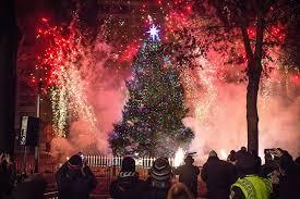 christmas tree lighting boston 2017 the 2017 boston common tree lighting new bedford guide