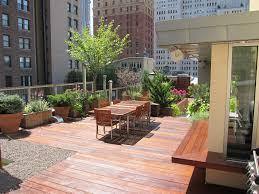 Terraced Patio Designs Outdoor Rooftop Gardens Design Residential Beautiful Patio Ideas