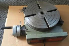 rotary table for milling machine enco 200 1063 rotary table milling machine industrial ebay