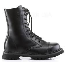 fashion motorcycle boots rocky 10 mens black leather ankle boots mens combat biker boots