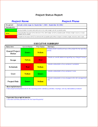 Monthly It Report Template For Management by 8 Project Status Template Bookletemplate Org