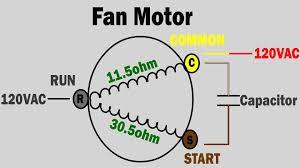 ac fan motor wiring diagram u0026 wiring diagram for ac condenser fan