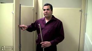 How To Install Bathroom Partitions Toilet Partition Privacy Covers Youtube
