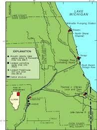 map of calumet michigan u s geological survey illinois science center lake michigan
