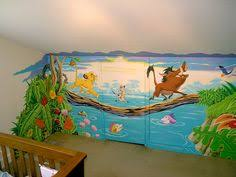lion king mural murals by whitney pinterest lions nursery
