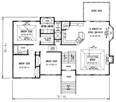 Split Floor Plan Home Design 85 Extraordinary Split Level Floor Planss Split