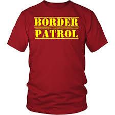 border patrol easy diy halloween costume 2017 t shirt tee gift