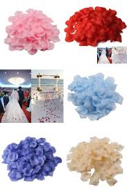 visit to buy 500pcs set wedding decoration rose petals romantic