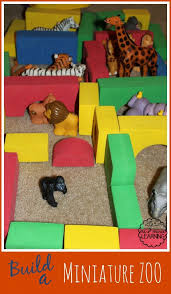 bored at home create your own zoo build a miniature zoo toddler activity me marie learning