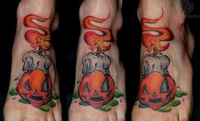 cool foot halloween tattoo cool tattoos online