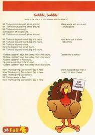 simple and thanksgiving songs for children preschool