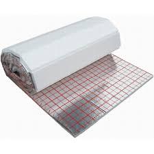 fußbodenheizung badezimmer capricorn 5 m tackerplatte dämmrolle 25 mm für fußbodenheizung