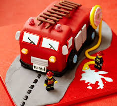 fire engine cake recipe bbc good food