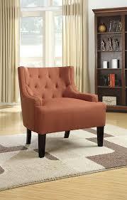 amazon com poundex boskone ansley microfiber accent chair