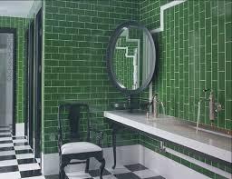 Green Tile Bathroom Ideas Green Subway Tile Bathroom Ideas Photogiraffe Me