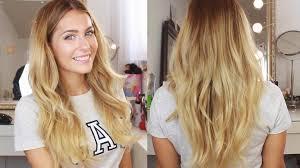 Frisuren Lange Haare Leichte Wellen by Leichte Wellen Tutorial