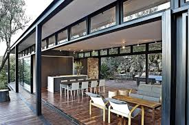 Patio Roof Ideas South Africa by Modern Steel Framed Home In Johannesburg South Africa