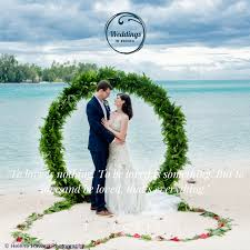wedding altars wedding altars in tahiti created for you