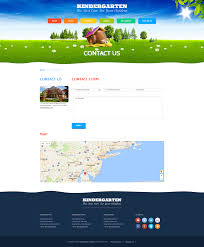 kids land wordpress template on behance