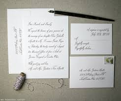 wedding invitations letter handwritten inspired wedding invitations archives debi sementelli