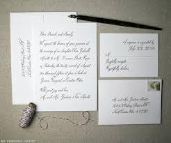 wedding invitations letter handwritten inspired wedding invitations archives debi sementelli