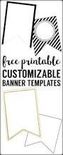 bunting template for banner wedding decorations ideas