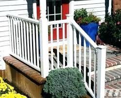 vinyl porch railing deck designs stair kits images 10 yardsmart