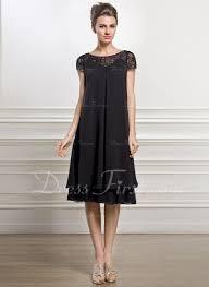 empire linie tragerlos knielang tull brautjungfernkleid mit drapiert p662 die besten 25 kleid hochzeitsgast knielang ideen auf