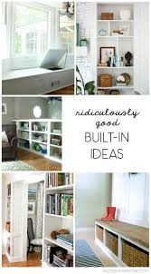 Built In Bookshelves With Window Seat 498 Best Built Ins Images On Pinterest Home Small Spaces And Books