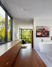 contemporary cedarvale ravine house design by drew mandel