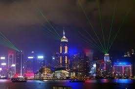 hong kong light show cruise symphony of lights hong kong harbor night cruise in hong kong china