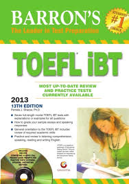 barron u0026apos s toefl ibt 2013 guide with dvd 13th edition buy