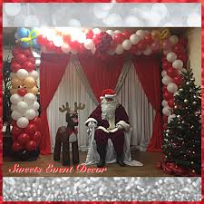 corporate christmas holiday party decor by sweets event decor