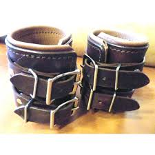 leather wrist strap bracelet images Leather weight lifting wrist bands JPG