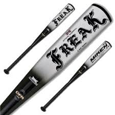 pitch bats miken freak coaches pitch 11 5 flex baseball bats baseball